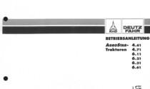 AGROSTAR 4.61 - AGROSTAR 4.71 - AGROSTAR 6.11 - AGROSTAR 6.21 - AGROSTAR 6.31 - AGROSTAR 6.61 - Betriebsanleitung