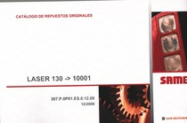LASER 130 ->10001 - Catalogo de repuestos originales