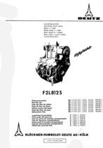 F2 L 812 S - Ersatzteilliste / Spare parts list / Liste de pièces de rechange / Lista de repuestos