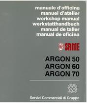 ARGON 50 - 60 - 70 - Werkstatthandbuch