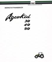 AGROKID 30 - AGROKID 40 - AGROKID 50 - Werkstatthandbuch