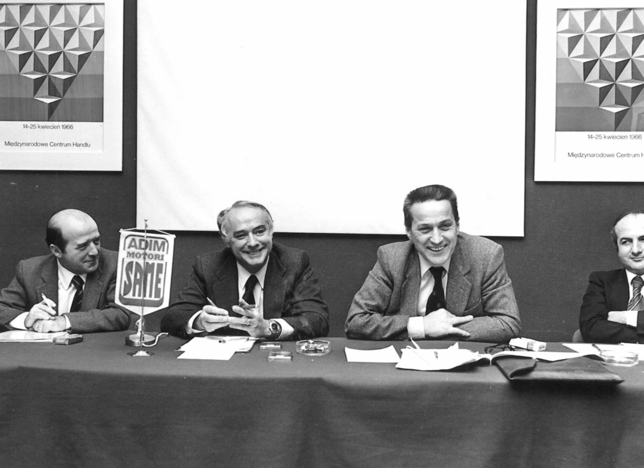 Dott. Gianmaria Carozza con dirigenti del Gruppo SLH
