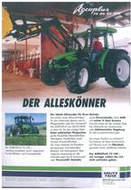 Der Alleskoenner - AGROPLUS 75 - 85 - 95 - 100