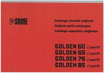 GOLDEN 60-65-75-85 COMPATTO - Catalogo Parti di Ricambio / Spare parts catalogue / Lista de repuestos