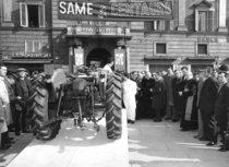 Lancio del trattore SAME Centauro a Piacenza