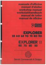 EXPLORER 55-60-65-70-75-80-90-60II-70II-80II-90II - Werkstatthandbuch