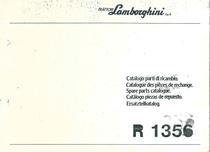 R 1356 - Catalogo Parti di Ricambio / Pièces de Rechange du Tracteur / Tractor Spare Parts / Ersatzteile für den Schleppers / Repuestos para Tractor