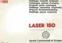 LASER 150 - Catalogo Parti di Ricambio / Catalogue de pièces de rechange / Spare parts catalogue / Ersatzteilliste / Lista de repuestos / Catálogo peças originais