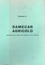 Sez. 8 - SAMECAR AGRICOLO - Catalogo Parti di Ricambio