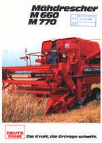 MÄHDRESCHER M 660 - M 770