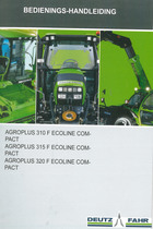 AGROPLUS 310 F ECOLINE COMPACT - AGROPLUS 315 F ECOLINE COMPACT - AGROPLUS 320 F ECOLINE COMPACT - Bedienings-handleiding