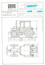 Atto di omologazione della trattrice SAME Explorer 70 DT e versioni derivate