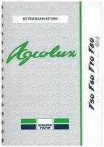 AGROLUX F 50-60-70-80 - Betriebsanleitung