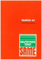 TAURUS 60 - Utilisation et entretien