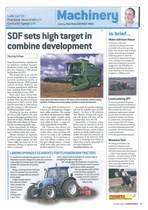SDF sets high target in combine development