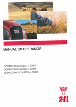 DORADO 80 CLASSIC ->30001 - DORADO 90 CLASSIC ->30001 - DORADO 90.4 CLASSIC ->30001 - Manual do operador