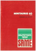 MINITAURUS 60 SYNCHRO - Bedienung und wartung
