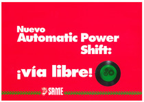 Nuevo Automatic Power Shift: via libre!