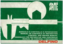 DELFINO 32 - Manuale d'officina / Manuel d'atelier / Workshop manual / Werkstatthandbuch / Manual de taller