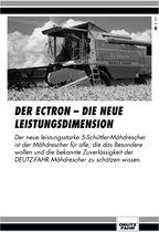 DER ECTRON - Die neue leistungsdimension