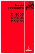 D 80 06-100 06-130 06 - Utilisation et Entretien