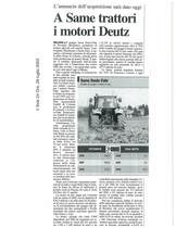 A SAME trattori i motori Deutz