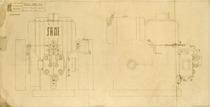 MIDO 1151 - Complessivo motore - Disegno 175