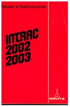 INTRAC 2002-2003 - Utilisation et Entretien