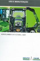 AGROCLIMBER 310 V C-N-M-L-> 2001 - Uso e manutenção