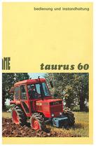 TAURUS 60 - Bedienung und instandhalthung