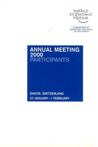 WORLD ECONOMIC FORUM - ANNUAL MEETING 2000, Tamil Nadu, World economic forum, 2000