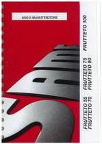 FRUTTETO 55-70-75-90-100 - Libretto uso & manutenzione