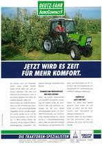 AGROCOMPACT F - JETZ WIRD ES ZEIT FÜR MEHR KOMFORT