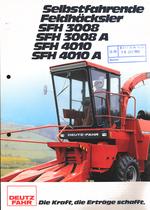 SELBSTFAHRENDE FELDHÄCKSLER SFH 3008 - SFH 3008 A - SFH 4010 - SFH 4010 A