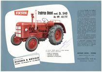 Trattrice diesel: D 540