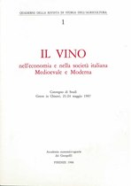Il vino nell'economia e nella società italiana Medioevale e Moderna