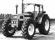 Trattore SAME Laser 150 a 4 ruote motrici in Francia