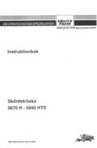 5670 H - 5690 HTS - Instruktionbok