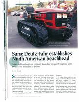 SAME Deutz-Fahr estabilished North American beachhead