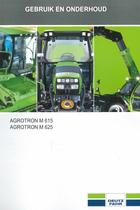 AGROTRON M 615 - AGROTRON M 625 - Gebruik en onderhoud