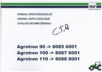 AGROTRON 90-100-110 - Original Ersatzteilkatalog / Original parts catalogue / Catalogo ricambi originali