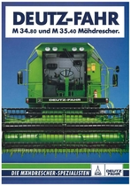 Deutz - Fahr M 34.80 - M 35.40 Maehdrescher
