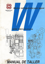 MOTOR REFRIGERADO POR AGUA - SERIE 1000/3-4-6 CILINDROS - Manual de taller