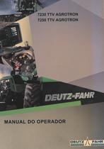 7230 TTV AGROTRON - 7250 TTV AGROTRON - Manual do operador