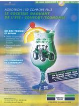 AGROTRON 150 confort plus le cocktail gagnat de l'été: confort /économie
