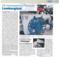 Un monumento a Ferruccio Lamborghini