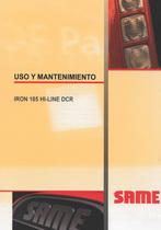 IRON 185 HI-LINE DCR - Uso y mantenimiento