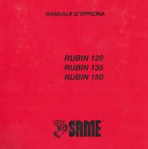 RUBIN 120 - 135 - 150 - Manuale d'officina