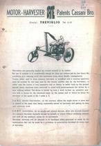 MOTOR - HARVESTER
