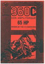 360 C - Libretto uso & manutenzione